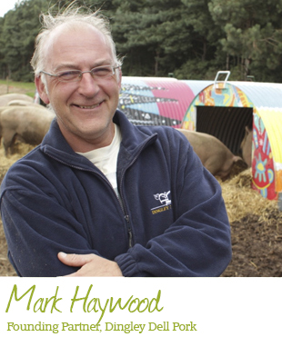 Mark Hayward, Partner at Dingley Dell Pork